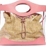 tendenze primavera estate borse pvc chanel rosa