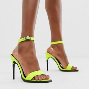 tendenze primavera estate scarpe pvc asos fluo