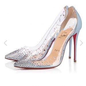 tendenze primavera estate scarpe pvc louboutin