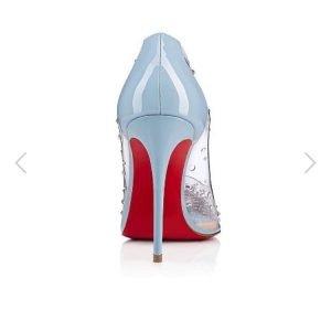 tendenze primavera estate scarpe pvc louboutin siola rossa