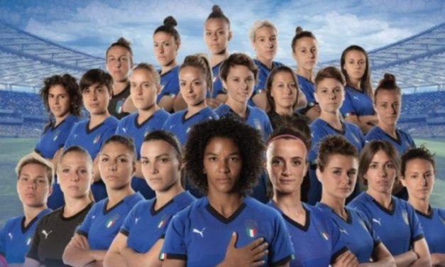 Nazionale italiana di calcio Femminile ci fai sognare!
