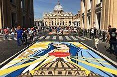 estate romana infiorata storica roma san pietro e paolo 29 giugno 1