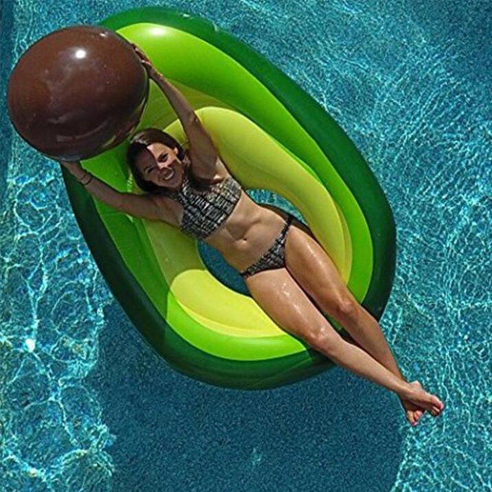 materassino gonfiabile avocado