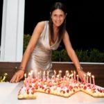 La manager Monica Mattei festeggia i suoi 40 anni sulla terrazza Molinari Aquaroof
