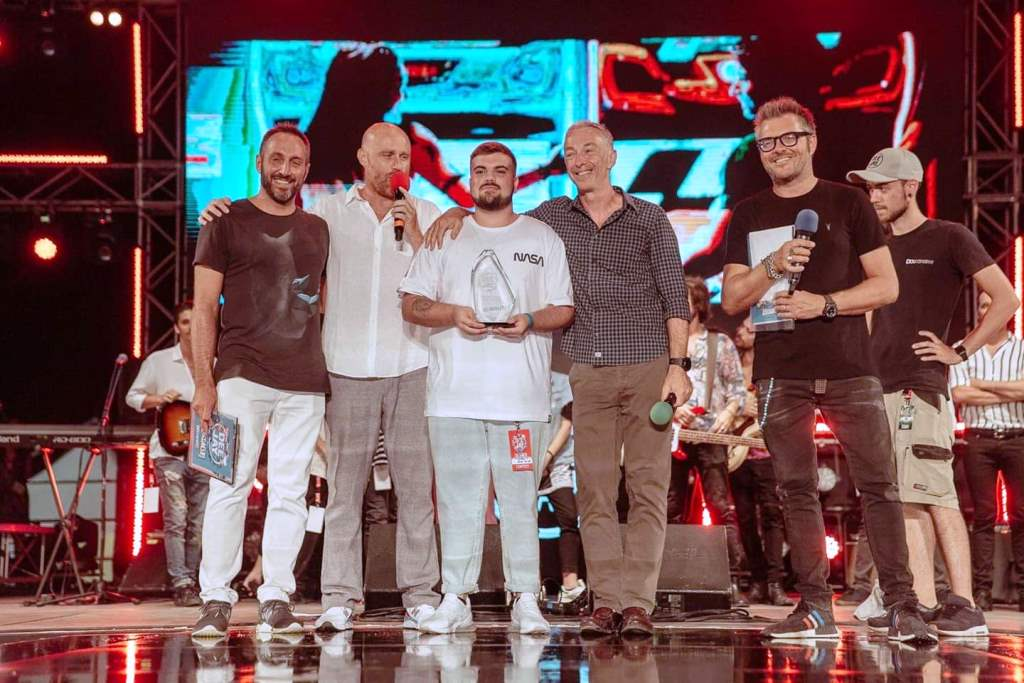 Matteo Sica Premiazione DeeJay On Stage