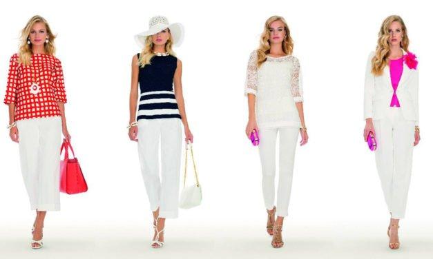 Pantaloni bianchi il top dell'estate 2019