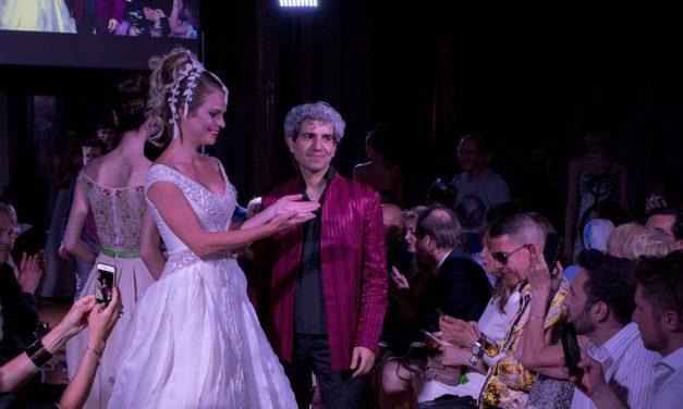 Jamal Taslaq sfila a Palazzo Colonna per Mondo Solidale Onlus