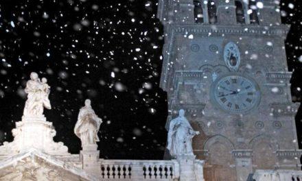 La neve d'agosto torna a Roma