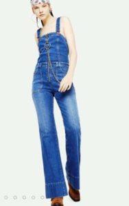 salopette jeans denim diesel donna 2