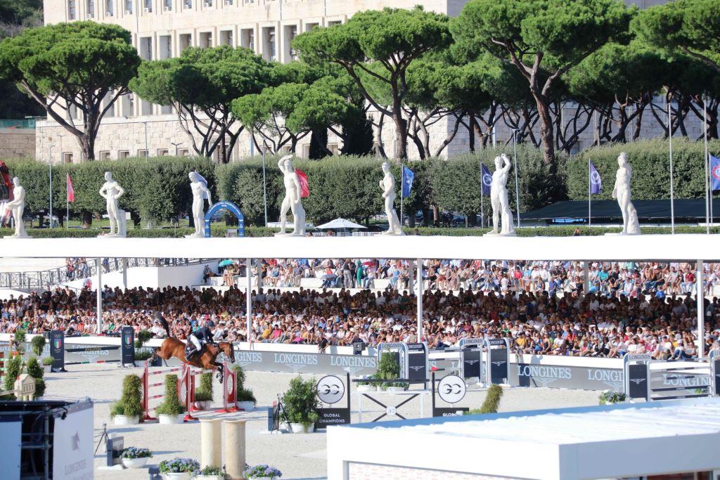 longines global champions tour roma 2019 stadio dei marmi pietro mennea