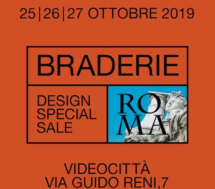 BRADERIE Design Special Sale a Roma