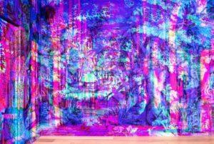 art show Canvas Bar di Bombay Sapphire roma 1