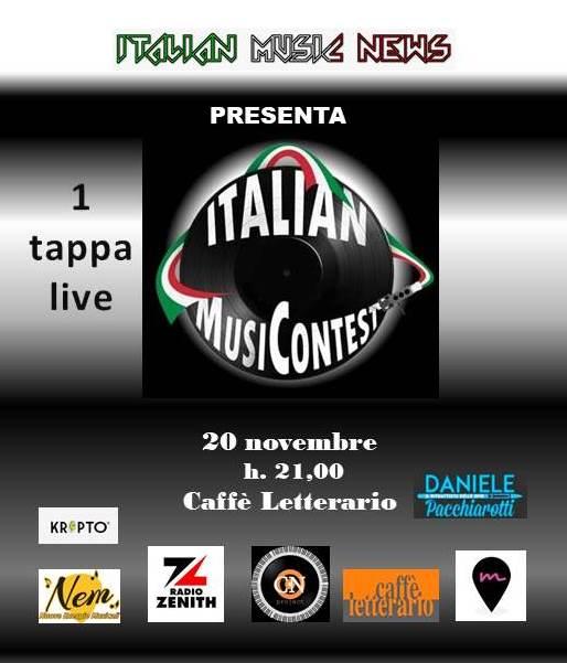 LOC PRIMA TAPPA italian music contest - Copia