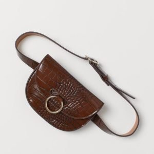 belt bag h&m marrone