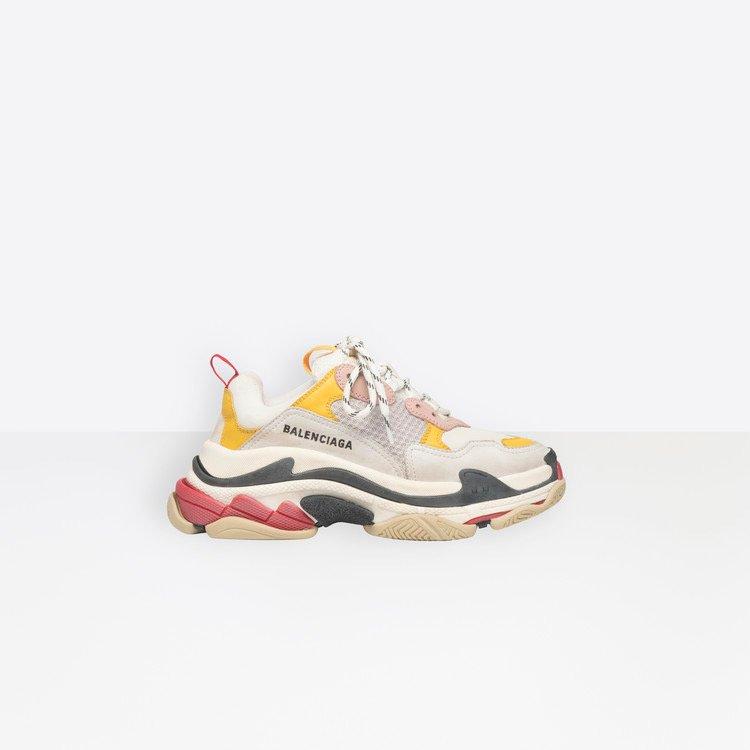 chunky sneakers balenciaga triple s