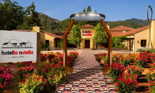 Hotella Nutella l'hotel più dolce del mondo