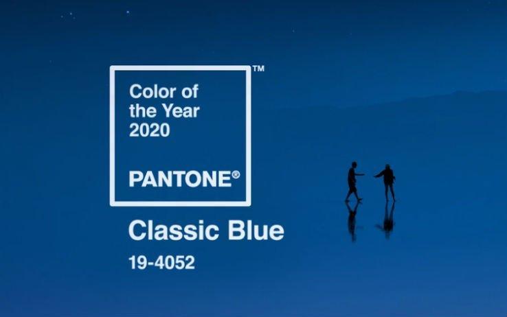 Classic Blue è il colore dell'anno 2020 by Pantone