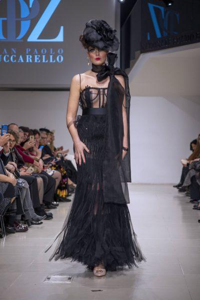 Gian Paolo Zuccarello abito nero