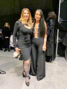 Elenia Scarsella con Sabrina Persechino