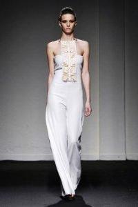 sabrina persechino altaroma 2020 jumpsuit bianca