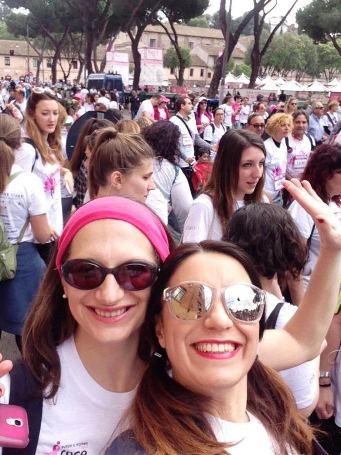 race for the cure elenia e rox