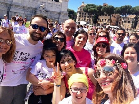 La Race for the cure quest'anno corre sulla rete