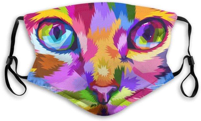 Mascherine fashion antivirus gatto