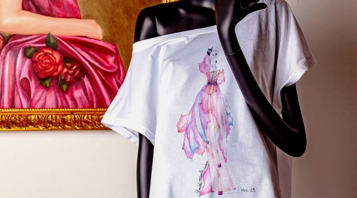 Le T-shirt Haute Couture by Gian Paolo Zuccarello