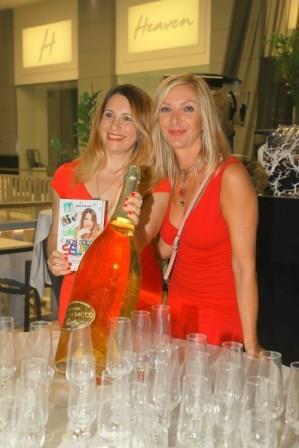Elenia Scarsella e Antonietta Di Vizia con Oro di Bacco pH Giancarlo Fiori