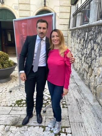 Jacopo Sipari con Elenia Scarsella