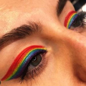 make up rainbow eye liner colorati nix