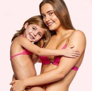 Costumi mamma e figlia Banana Moon rosa