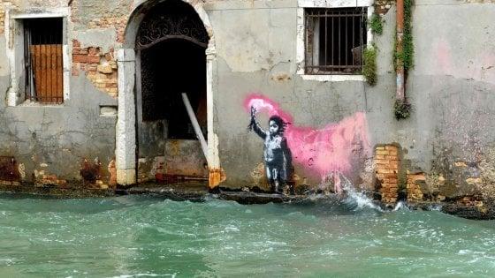 bansky chiostro bramante roma venezia