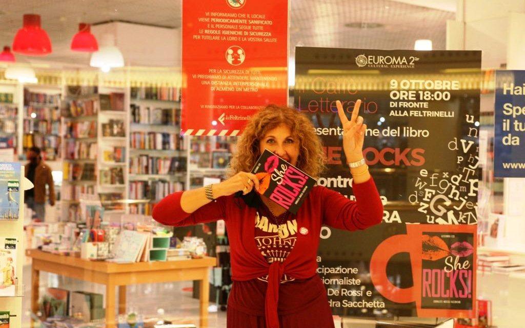 Alessandra Izzo presenta il suo nuovo libro SHE ROCKS a Euroma2
