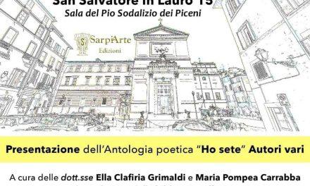 L'ARTE SI FA PAROLA ne cuore di Roma