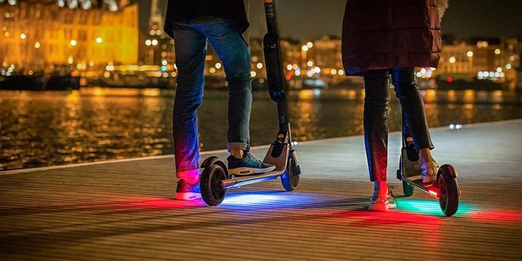 monopattino elettrico città xiaomi ninebot luci led accessori