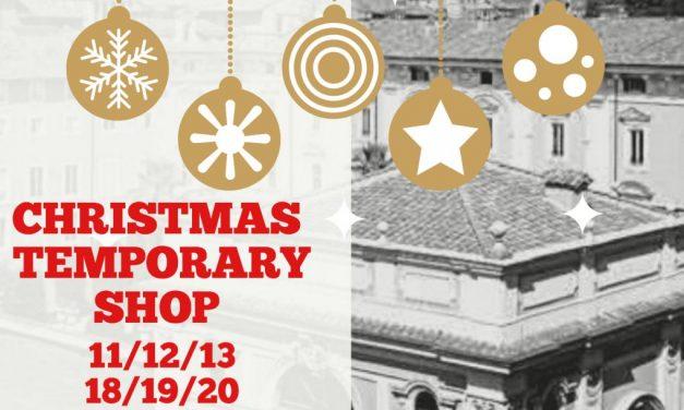 Shopping natalizio di alto artigianato: lo trovate al Christmas Temporary Shop nella Coffee House di Palazzo Colonna: