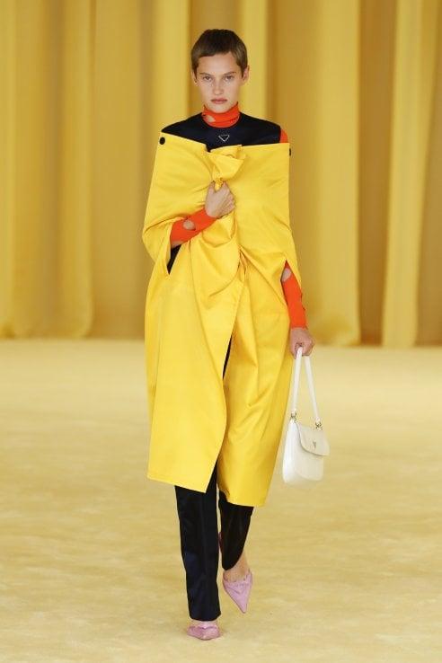 Pantone 2021 Prada abbinamenti giallo nero