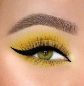 Pantone 2021 make up yellow