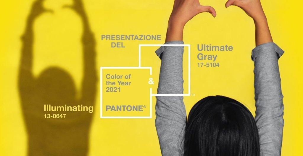 Pantone 2021 sceglie i colori della forza e della positività