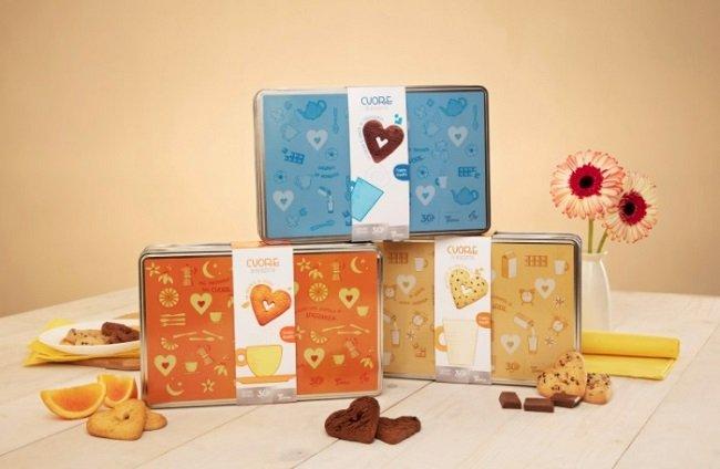 Cuori di biscotto della Fondazione Telethon