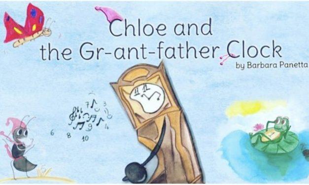 Barbara Panetta e la sua formichina Chloe che insegna l'inglese ai bambini