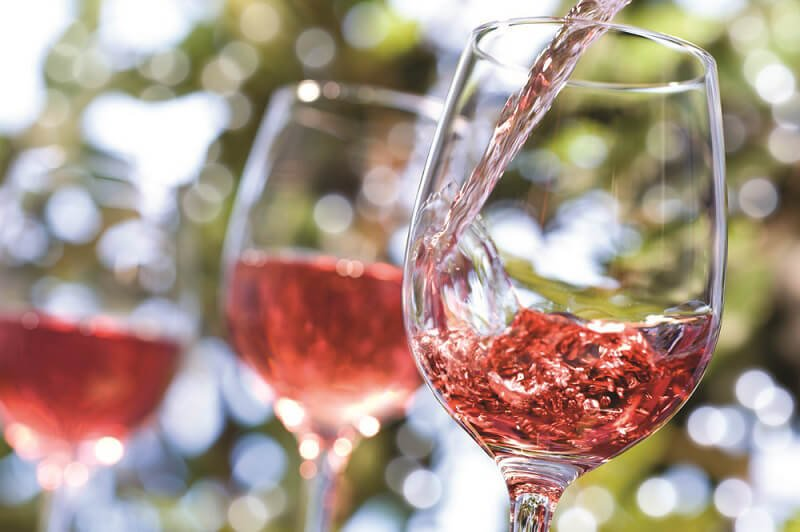 Bererosa vini rosati 2021 bicchiere