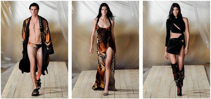 Roberto Cavalli Milano Fashion Week 2021